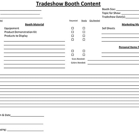 blog - Tips For Preparing For A Tradeshow