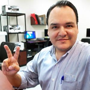 blog - #PennPeople – Meet Victor Durón Gonzalez, Penn Emblem's Inkjet and Screenprint Design Manager