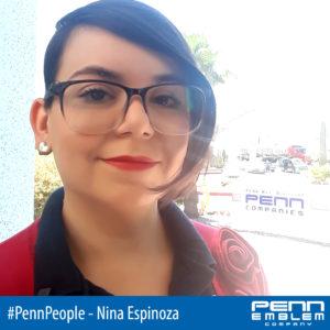 blog - #PennPeople: Meet Nina Espinoza, a Penn Emblem Digitizer and Customer Support Representative