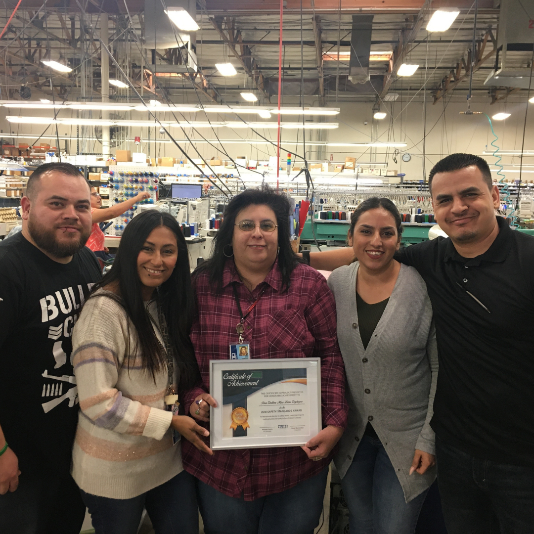 blog - 2018-2019 Safety Award Recognition for Mira Loma Location